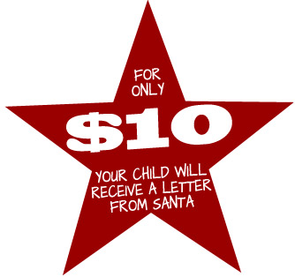 $10 Letters from Santa